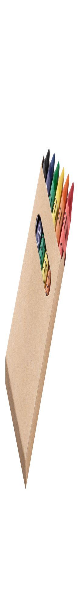 Набор восковых мелков Pencilvania Wax фото