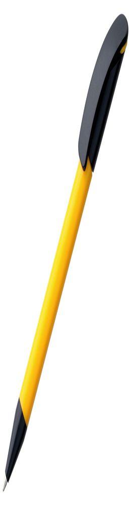 Ручка шариковая Prodir DS3 TPP Special, желтая с черным фото