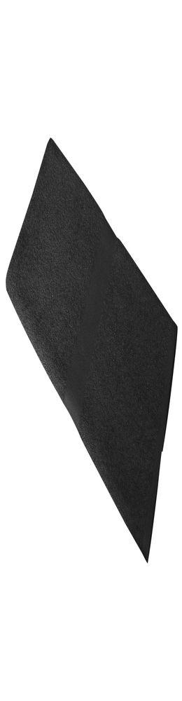 Полотенце махровое Soft Me Medium, черное фото