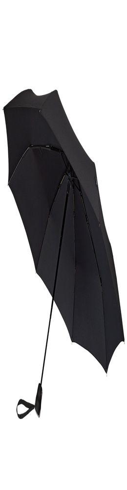 Складной зонт Gran Turismo, черный фото