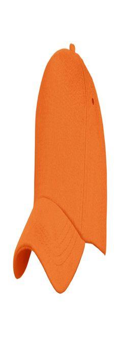 Бейсболка Unit Standard, оранжевая фото