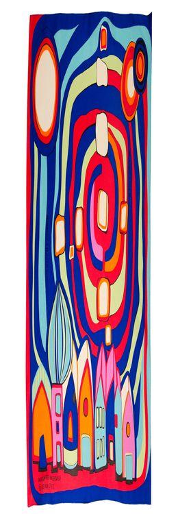 Шейный платок «Гаврош» Ф. Хундертвассер фото