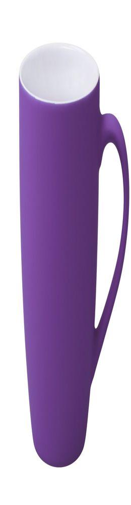 Кружка Good Morning c покрытием софт-тач, фиолетовая фото