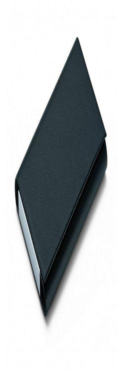 Футляр для визитных карт Flip, черный фото
