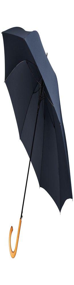 Зонт-трость Unit Classic, темно-синий фото