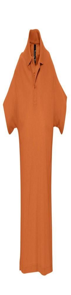 Рубашка поло SUMMER 170, оранжевая фото