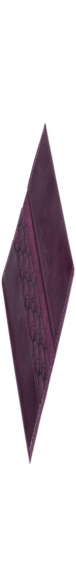 Футляр для визиток Letizia, фиолетовый фото