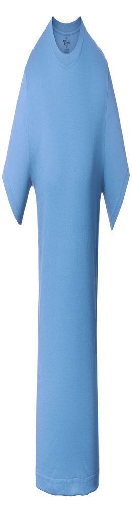 Футболка T-bolka 140, голубая фото