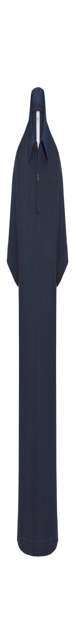 Рубашка поло мужская DNM Forward темно-синяя фото