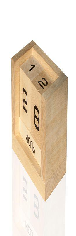 Настольный календарь DS003 липа натуральная фото