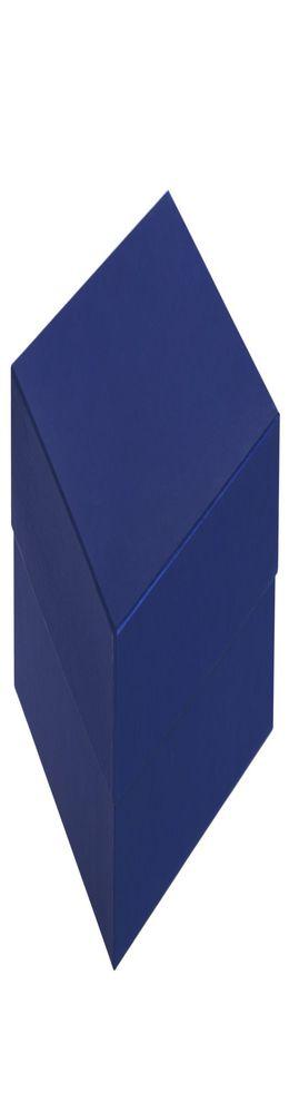 Коробка Satin, большая, синяя фото