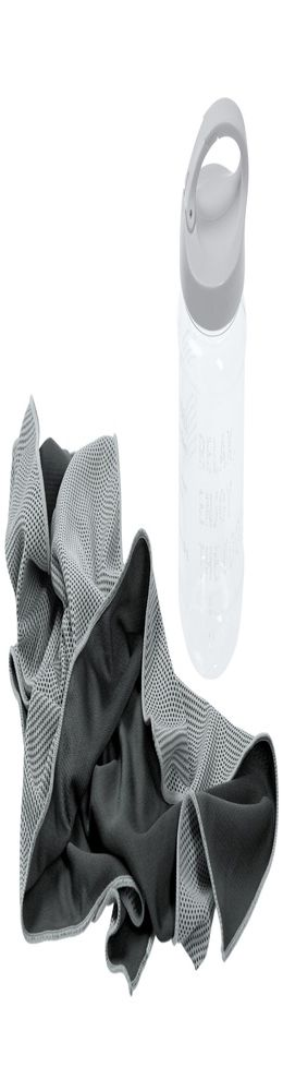 Охлаждающее полотенце Weddell, серое фото