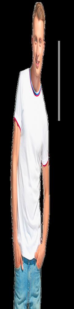 Мужская футболка EkaterinaCity 1402, белый фото