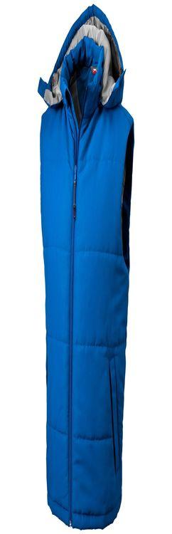 Slazenger Жилет Gravel мужской, небесно-голубой фото