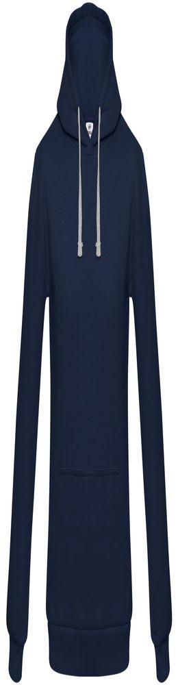 Толстовка с капюшоном Unit Kirenga, темно-синяя фото