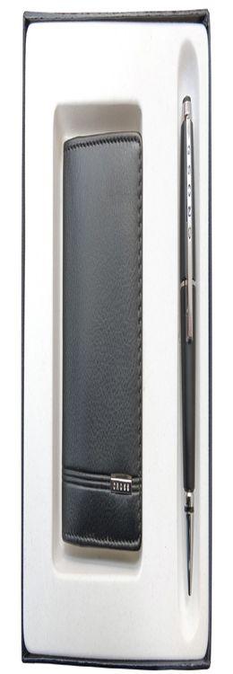 Набор «Classic Century»: обложка для кредитных и визитных карт, ручка роллер фото