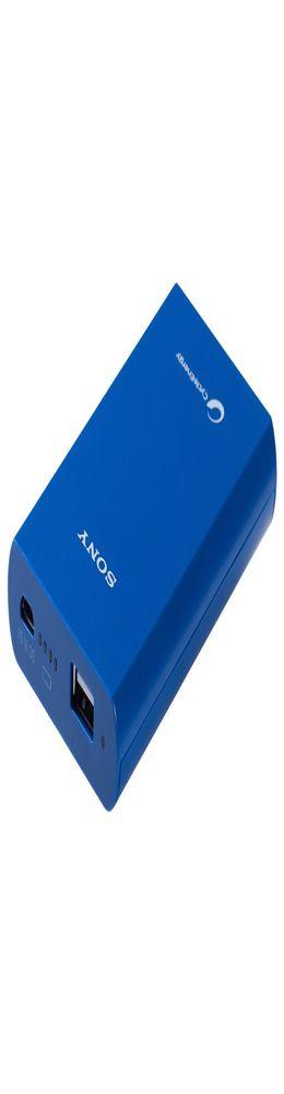 Внешний аккумулятор Sony 5800 мАч, синий фото