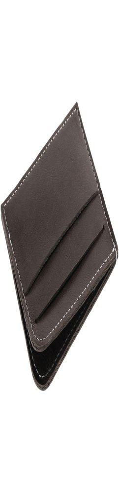Чехол для карточек Apache, темно-серый фото