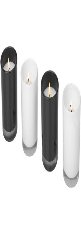 Набор из 4-х свечек «Hills» фото