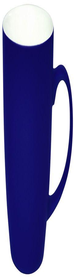 Кружка Sweet с прорезиненным покрытием, синий, 350 мл фото