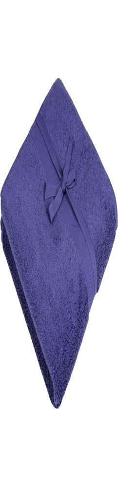Полотенце махровое Majesty Large, синее фото