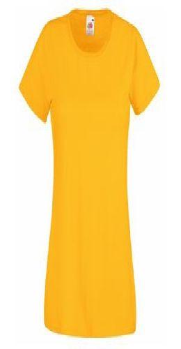 """Футболка """"Lady-Fit Valueweight T"""", солнечно-желтый фото"""