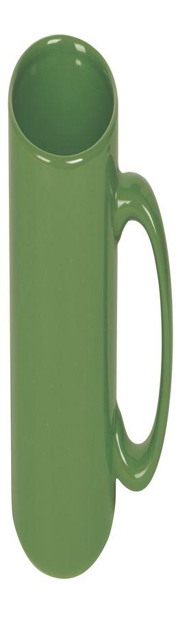 Кружка; зеленый; 320 мл; фаянс; деколь фото