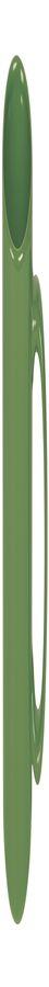 Кружка; зеленый; 320 мл; фаянс; деколь