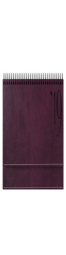 Планинг PORTLAND 5497 (794) 298x140 мм. бургунди, крем.блок, золот.срез,красно-черн.графика 2019 фото
