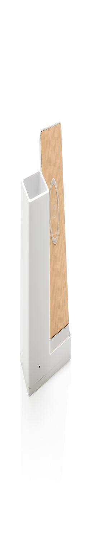 Док-станция Ontario для беспроводной зарядки с подставкой для ручек, 5W, белый фото