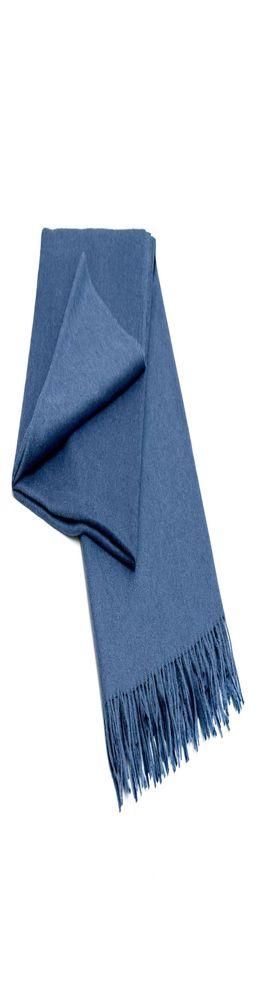 Плед, синий фото