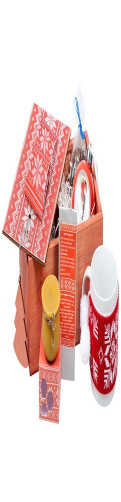 Подарочный новогодний набор «Праздничное чаепитие», красный фото
