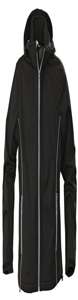 Куртка софтшелл мужская SKYRUNNING, черная фото