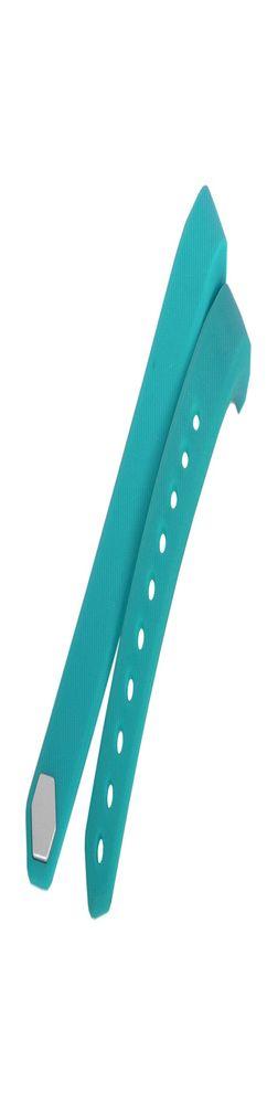 Запчасть браслет-силикон без э/механизма для Portobello Trend, Only 240x16x10 мм, бирюзовый фото