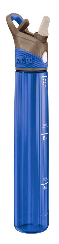 Спортивная бутылка для питья Addison, синяя фото