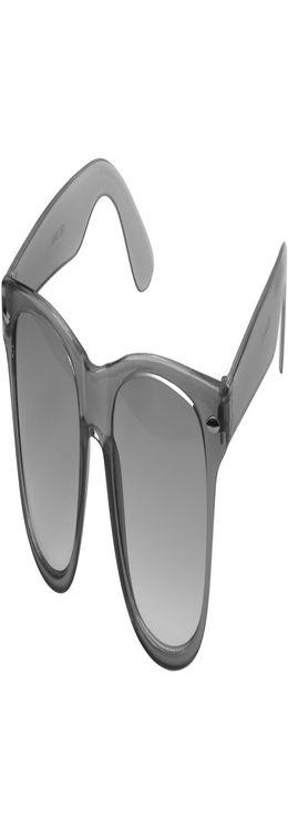 Очки солнцезащитные «Sun Ray» с прозрачными линзами фото