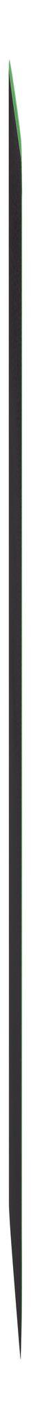 Блокнот Excentrica, черный с зеленым