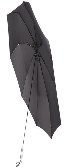 Зонт складной Unit Fiber, черный фото