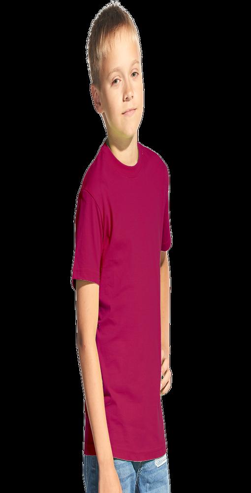 Детская футболка StanKids 06, винный фото