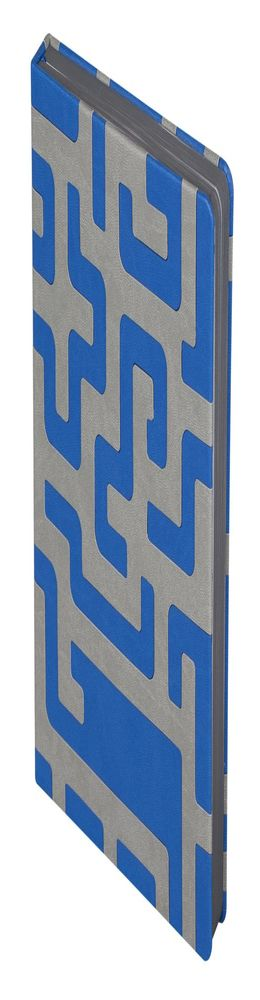 Ежедневник Labyrinth, недатированный, синий фото