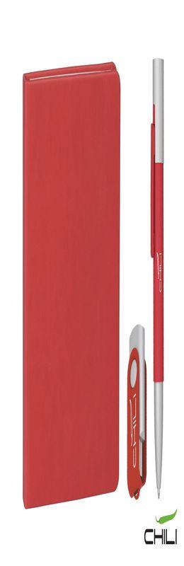 """Подарочный набор """"Ровелла"""" с блокнотом А6, покрытие soft touch фото"""