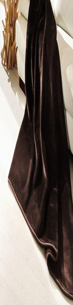 Плюшевый плед DeLuxe, корица фото