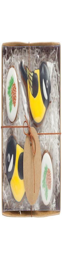 Набор имбирного печенья «Hungry birds» фото
