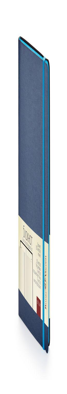 Блокнот без линовки Megapolis Soft, синий фото