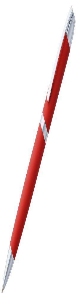 Ручка шариковая Razzo Chrome, красная фото