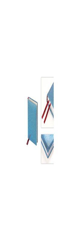 Ежедневник полудатированный Light Blue, голубой фото