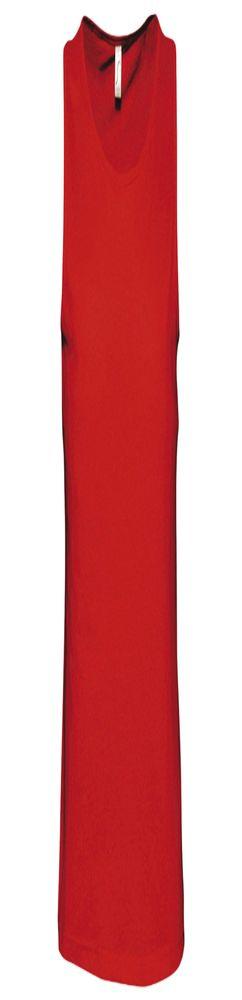 Майка мужская JUSTIN 150, красная фото