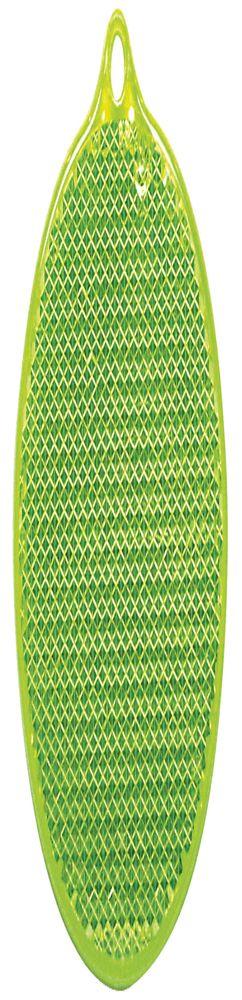 Пешеходный светоотражатель «Круг», зеленый фото