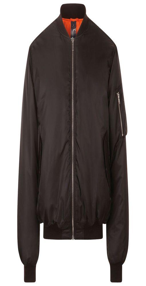 Куртка бомбер унисекс REMINGTON, черная фото