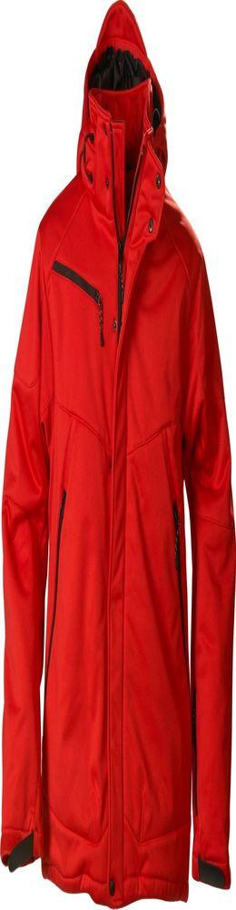 Куртка софтшелл мужская Skeleton, красная фото